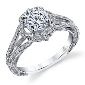 Parade Hera Bridal R3194 Platinum Diamond Engagement Ring