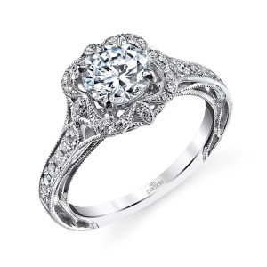 Parade Hera Bridal R3195 Platinum Diamond Engagement Ring