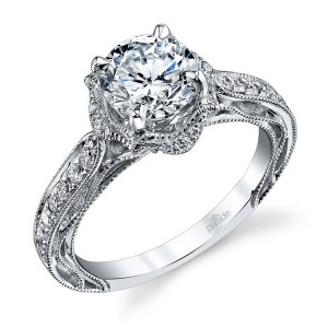 Parade Hera Bridal R3306 18 Karat Diamond Engagement Ring