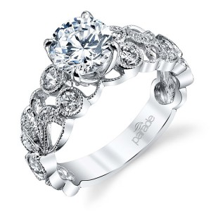 Parade Hera Bridal R3313 Platinum Diamond Engagement Ring