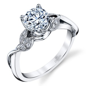 Parade Lyria Bridal Platinum Diamond Engagement Ring R3928