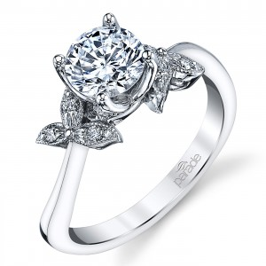 Parade Lyria Bridal Platinum Diamond Engagement Ring R3934