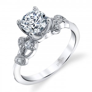 Parade Lyria Bridal Platinum Diamond Engagement Ring R3936