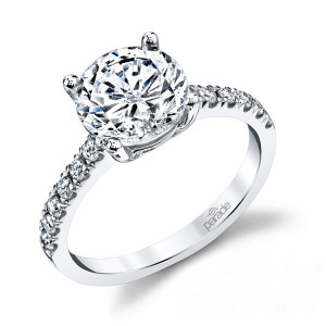 Parade New Classic 14 Karat Diamond Engagement Ring R3637