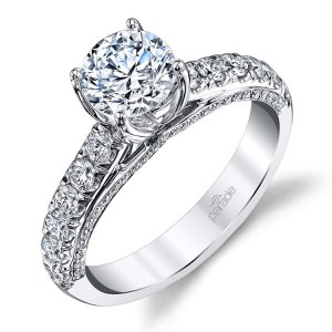 Parade New Classic 14 Karat Diamond Engagement Ring R3730