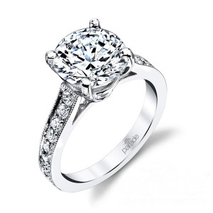 Parade New Classic Platinum Diamond Engagement Ring R3569