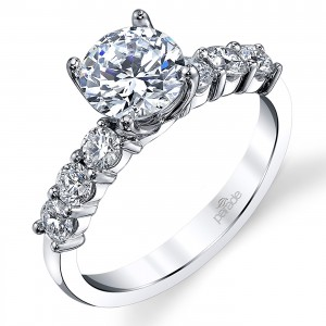 Parade New Classic Platinum Diamond Engagement Ring R3813