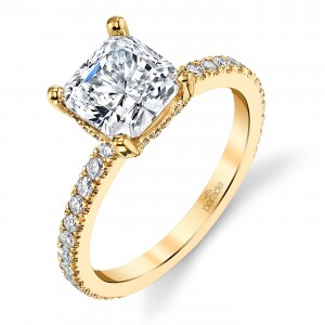 Parade New Classic Platinum Diamond Engagement Ring R3920