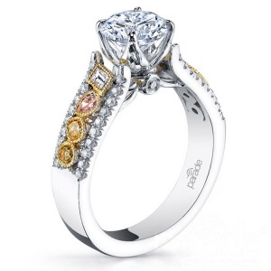 Parade Reverie Bridal R3100 14 Karat Diamond Engagement Ring