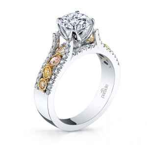 Parade Reverie Bridal R3101 14 Karat Diamond Engagement Ring