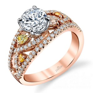Parade Reverie Bridal R3295 14 Karat Diamond Engagement Ring