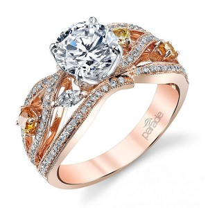 Parade Reverie Bridal R3296 14 Karat Diamond Engagement Ring
