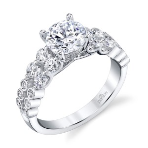 Parade Hemera Bridal R4335 18 Karat Diamond Engagement Ring