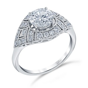 Parade Hera Bridal R4356 Platinum Diamond Engagement Ring