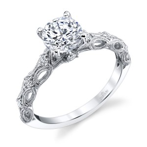 Parade Hera Bridal R4469 14 Karat Diamond Engagement Ring