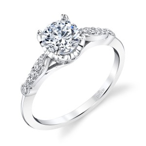 Parade Hera Bridal R4689 Platinum Diamond Engagement Ring