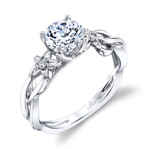 Parade Lyria Bridal R4495 Platinum Diamond Engagement Ring