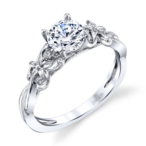 Parade Lyria Bridal R4496 Platinum Diamond Engagement Ring
