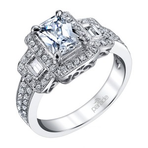 Parade Hera Bridal R0628 18 Karat Diamond Engagement Ring