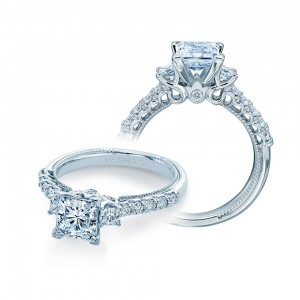 Verragio Renaissance-940P6 14 Karat Diamond Engagement Ring