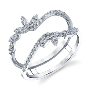 Parade Lyria Bridal RGBD4175A Platinum Diamond Engagement Ring