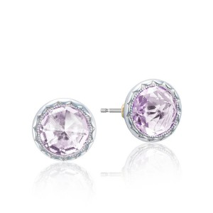 Tacori SE21513 Lilac Blossoms Bezel Studs Earrings