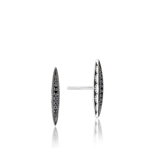 Tacori SE22944 The Ivy Lane Bold Pavé Surfboard Studs Earrings