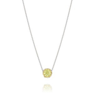 Tacori SN204Y07 Color Medley Crescent Station Necklace