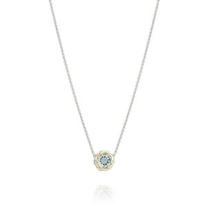 Tacori SN204Y12 Color Medley Crescent Station Necklace