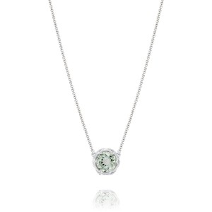 Tacori SN22412 Color Medley Bold Crescent Station Prasiolite Necklace