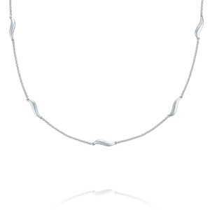 Tacori SN228 Crescent Cove Multi-Wave Necklace