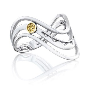 Tacori SR217 Crescent Cove Triple Wave Ring