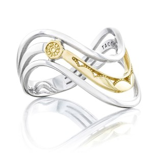 Tacori SR218 Crescent Cove Triple Wave Ring