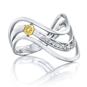 Tacori SR219 Crescent Cove Triple Wave Ring