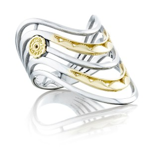 Tacori SR220 Crescent Cove Five Wave Ring