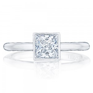 300-2PR55 Platinum Tacori Starlit Engagement Ring