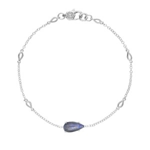 SB22646 Tacori Solitaire Pear-Shaped Gem Bracelet with Labradorite