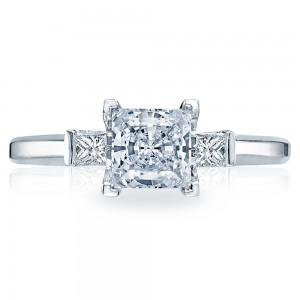 Tacori 18 Karat Simply Tacori Engagement Ring 2605PR55