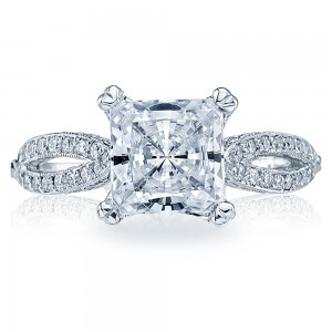 Tacori 18 Karat Simply Tacori Solitaire Engagement Ring 2573PR7