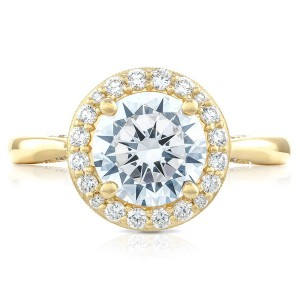 Tacori HT2651RD8Y 18 Karat RoyalT Engagement Ring