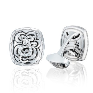 Tacori MCL119J Monogram Cuff Links