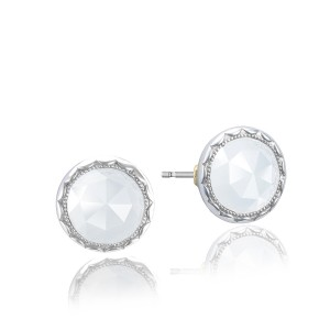 Tacori SE21503 Classic Rock Bezel Studs Earrings