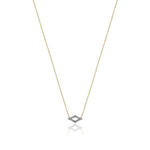 Tacori SN216SVYBR The Ivy Lane Pavé Surfboard Necklace