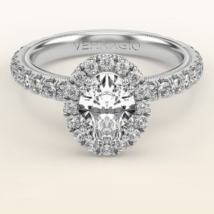 Verragio Tradition TR180HOV 14 Karat Diamond Engagement Ring