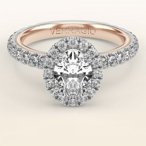 Verragio Tradition TR180HOV-2WR 14 Karat Diamond Engagement Ring