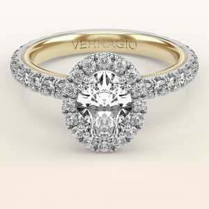 Verragio Tradition TR180HOV-2WY 14 Karat Diamond Engagement Ring