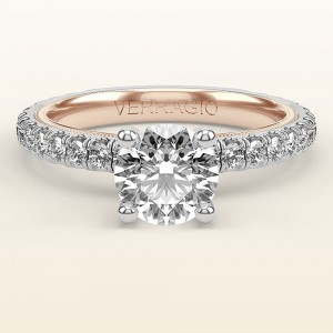 Verragio Tradition TR180R4-2WR 14 Karat Diamond Engagement Ring