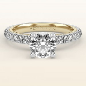 Verragio Tradition TR180R4-2WY 14 Karat Diamond Engagement Ring