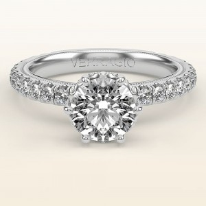 Verragio Tradition TR180TR 14 Karat Diamond Engagement Ring
