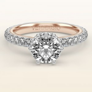 Verragio Tradition TR180TR-2WR 14 Karat Diamond Engagement Ring